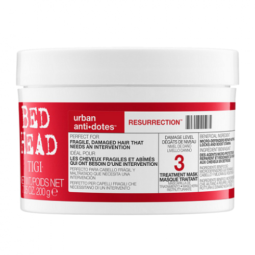 Mặt nạ dưỡng Tái Sinh BED HEAD URBAN ANTIDOTES Resurrection Treatment Mask 200ml