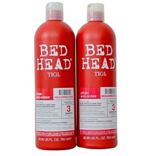 Dầu gội xã TIGI 3 BED HEAD URBAN ANTIDOTES RESURRECTION 750ML