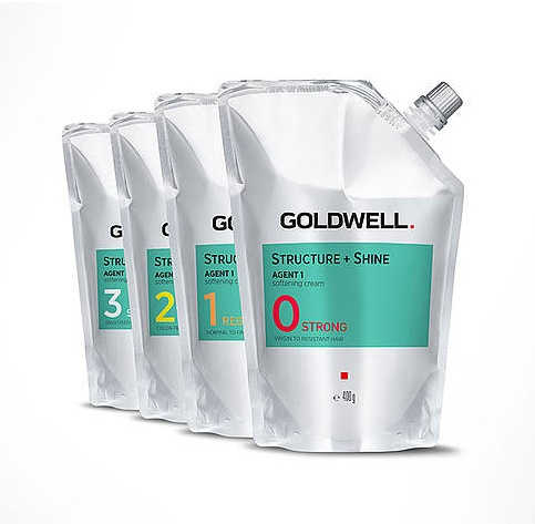 THUỐC UỐN GOLDWELL STRUCTURE + SHINE 400ML