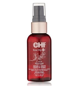 CHI ROSE HIPOIL COLOR NURTURE REPAIR AND SHINE LEAVE-IN TONIC 59ML